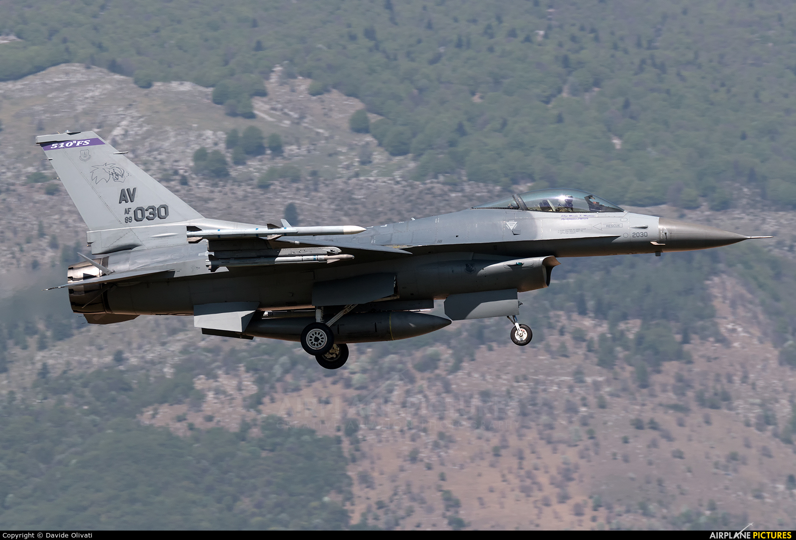 USA - Air Force 89-2030 aircraft at Aviano