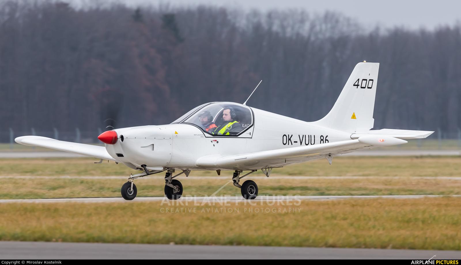 Private OK-VUU86 aircraft at Ostrava Mošnov