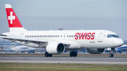 HB-JCH - Swiss Bombardier CS300