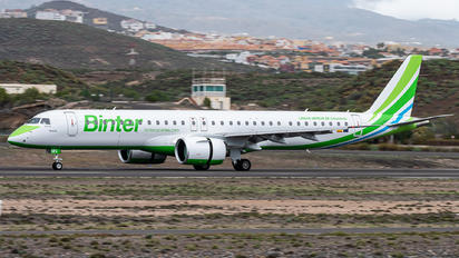 EC-NFA - Binter Canarias Embraer ERJ-195-E2