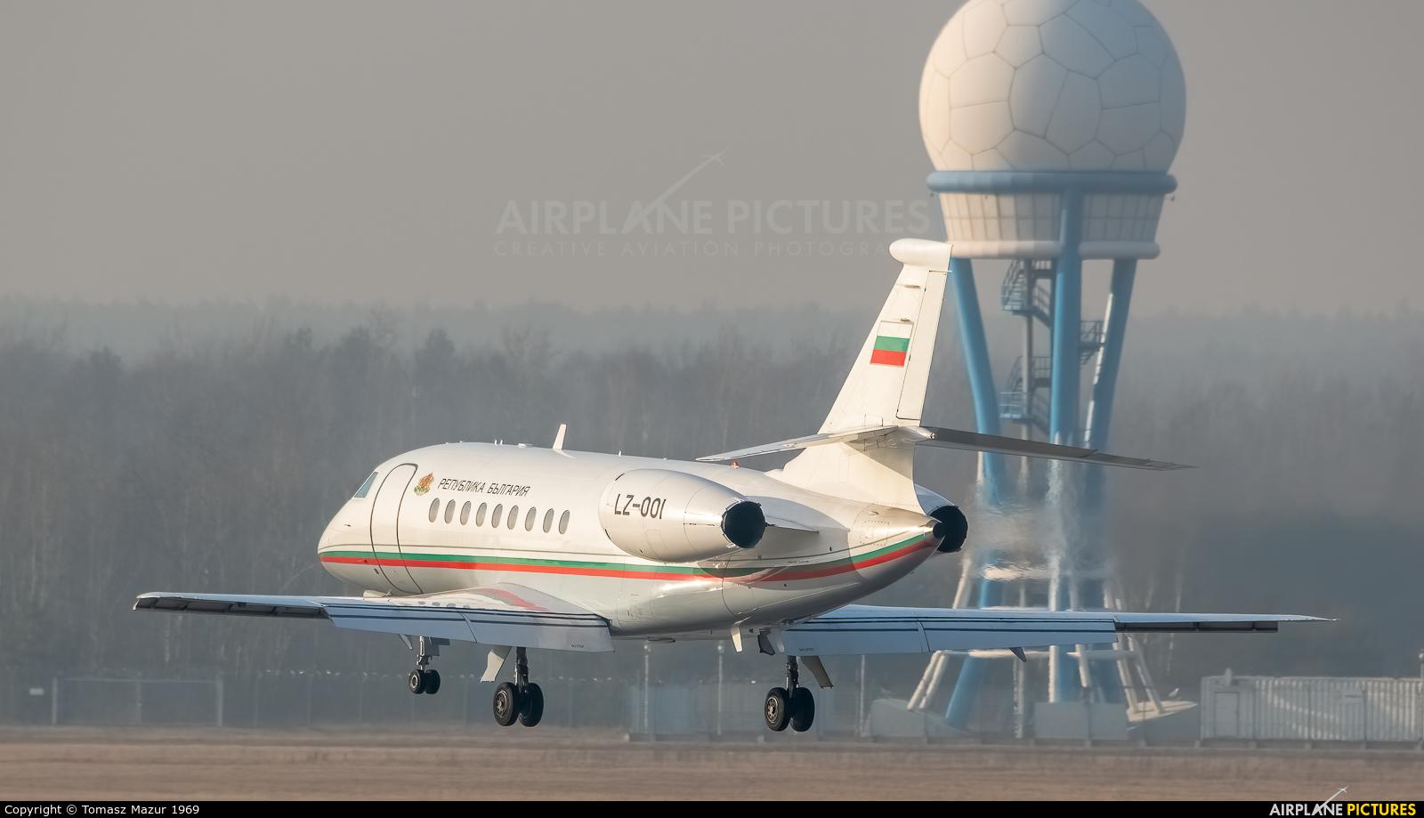 Bulgaria - Government LZ-001 aircraft at Katowice - Pyrzowice
