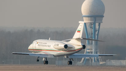 LZ-001 - Bulgaria - Government Dassault Falcon 2000 DX, EX