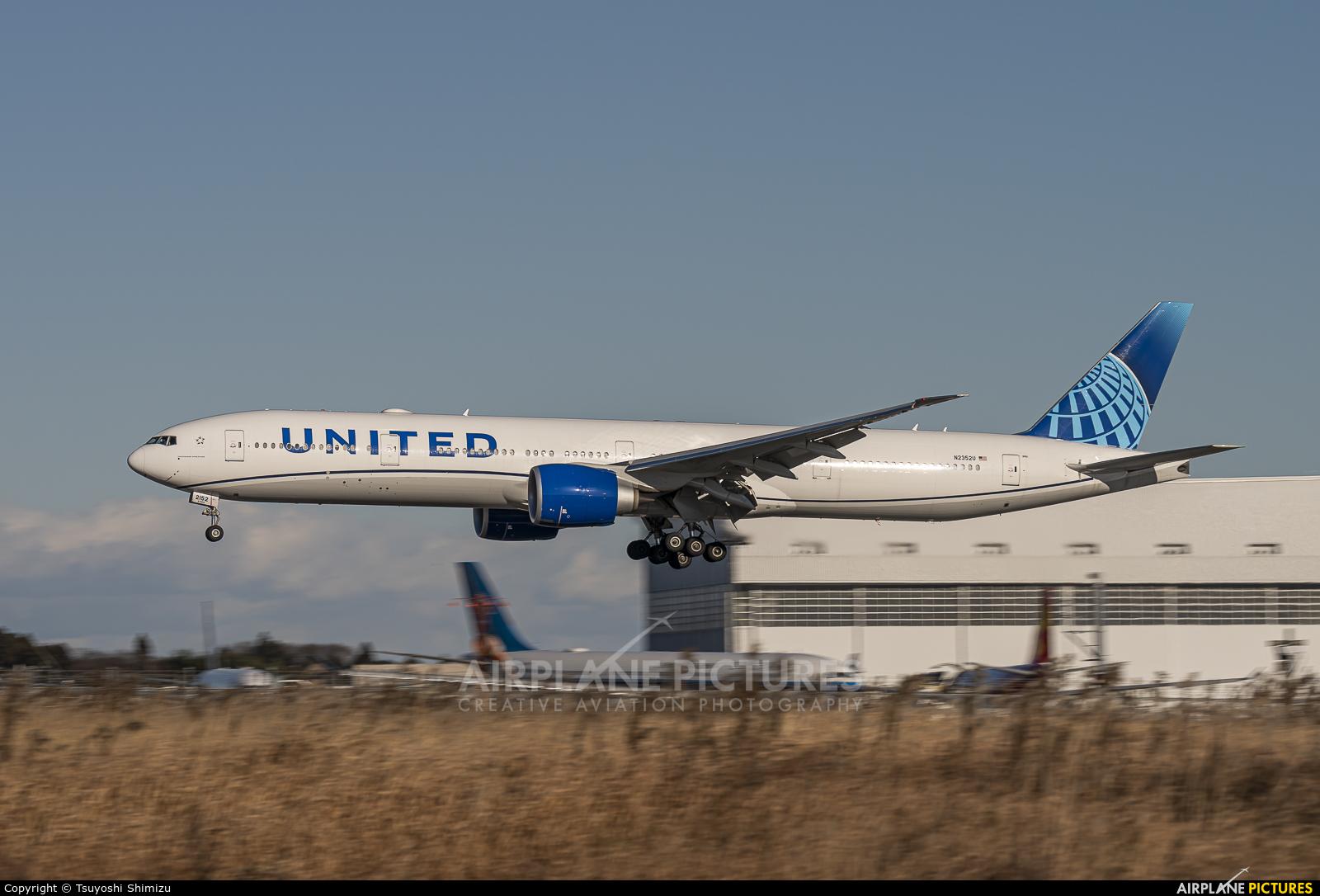 United Airlines N2352U aircraft at Tokyo - Narita Intl
