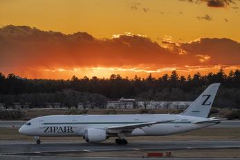 JA822J - ZIPAIR Tokyo Boeing 787-8 Dreamliner