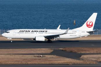 JA339J - JAL - Japan Airlines Boeing 737-800
