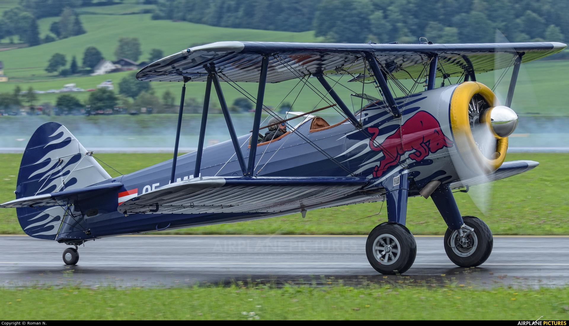 The Flying Bulls OE-AMM aircraft at Zeltweg