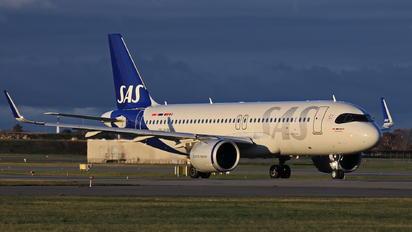 SE-RUB - SAS - Scandinavian Airlines Airbus A320 NEO