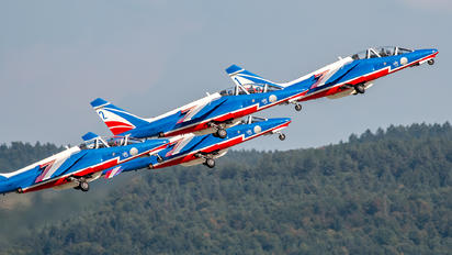 "E134 - France - Air Force ""Patrouille de France"" Dassault - Dornier Alpha Jet E"