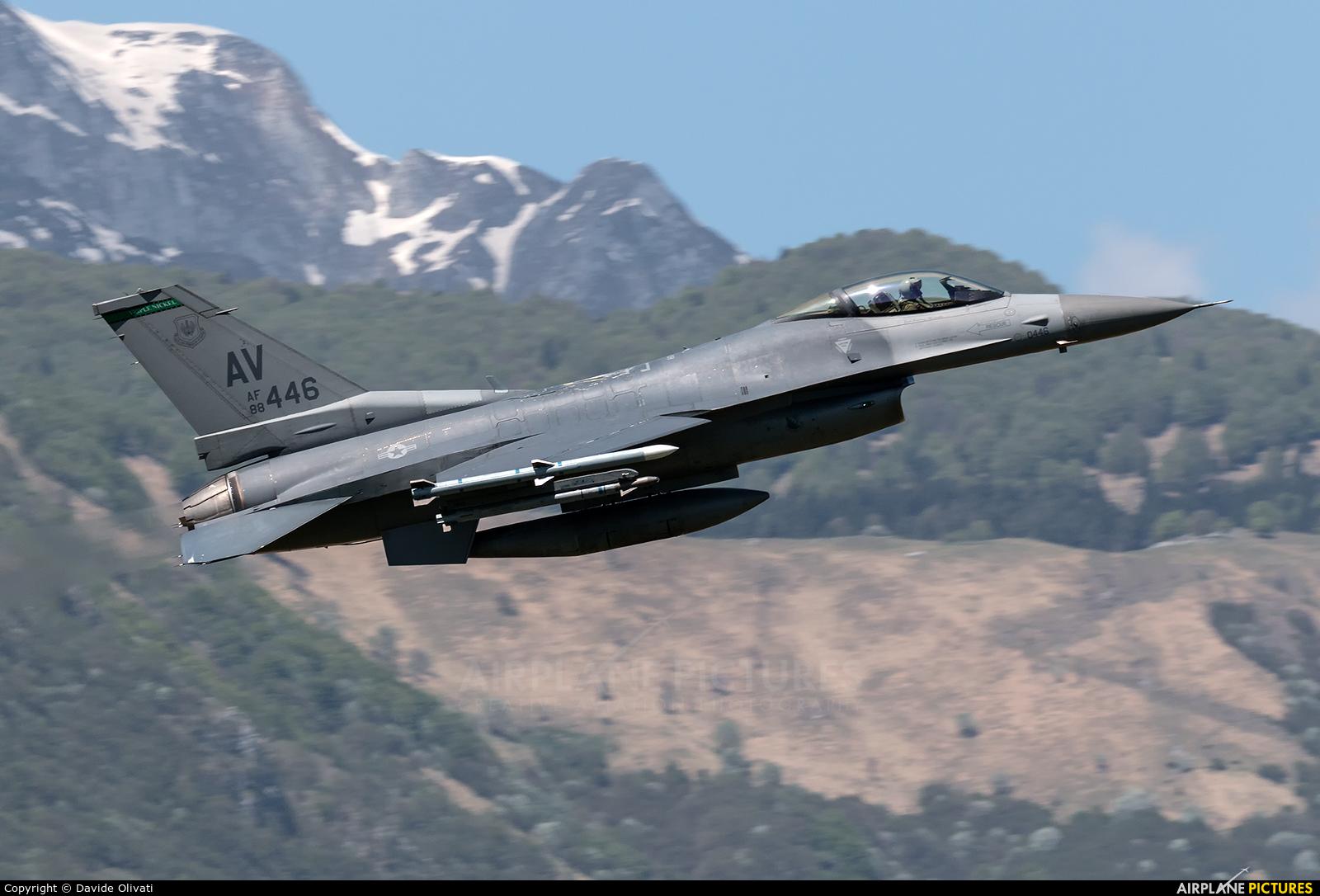 USA - Air Force 88-0446 aircraft at Aviano
