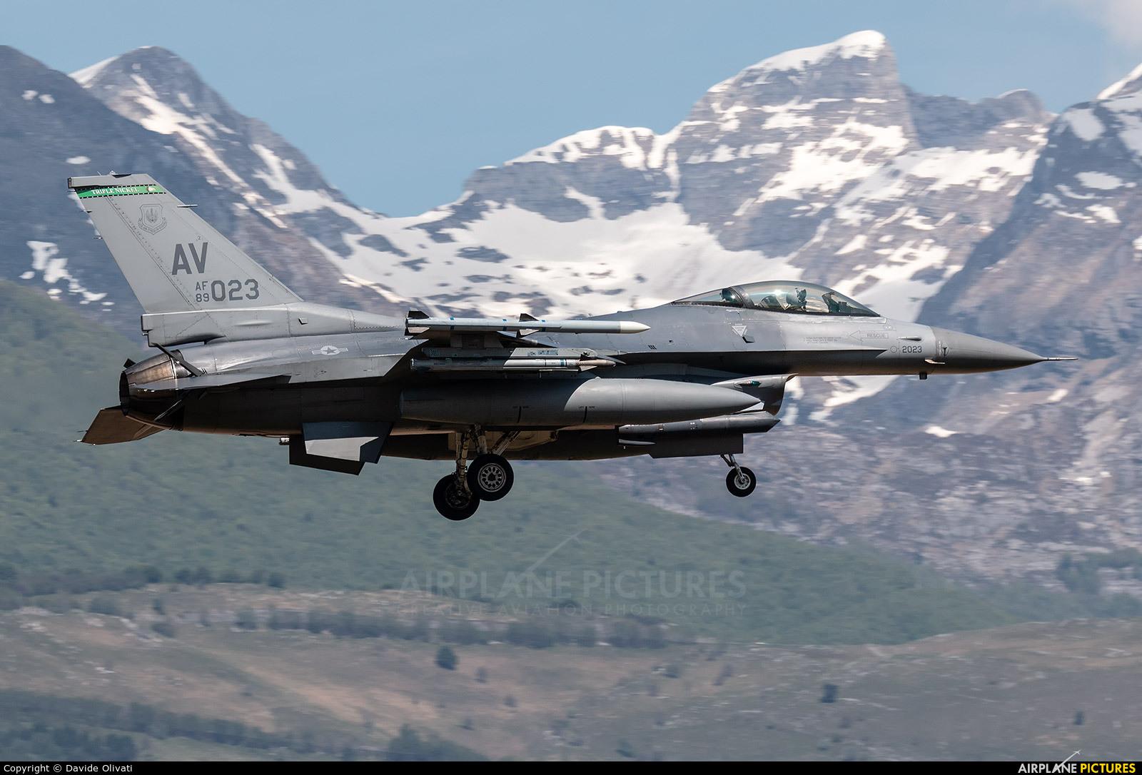 USA - Air Force 89-2023 aircraft at Aviano