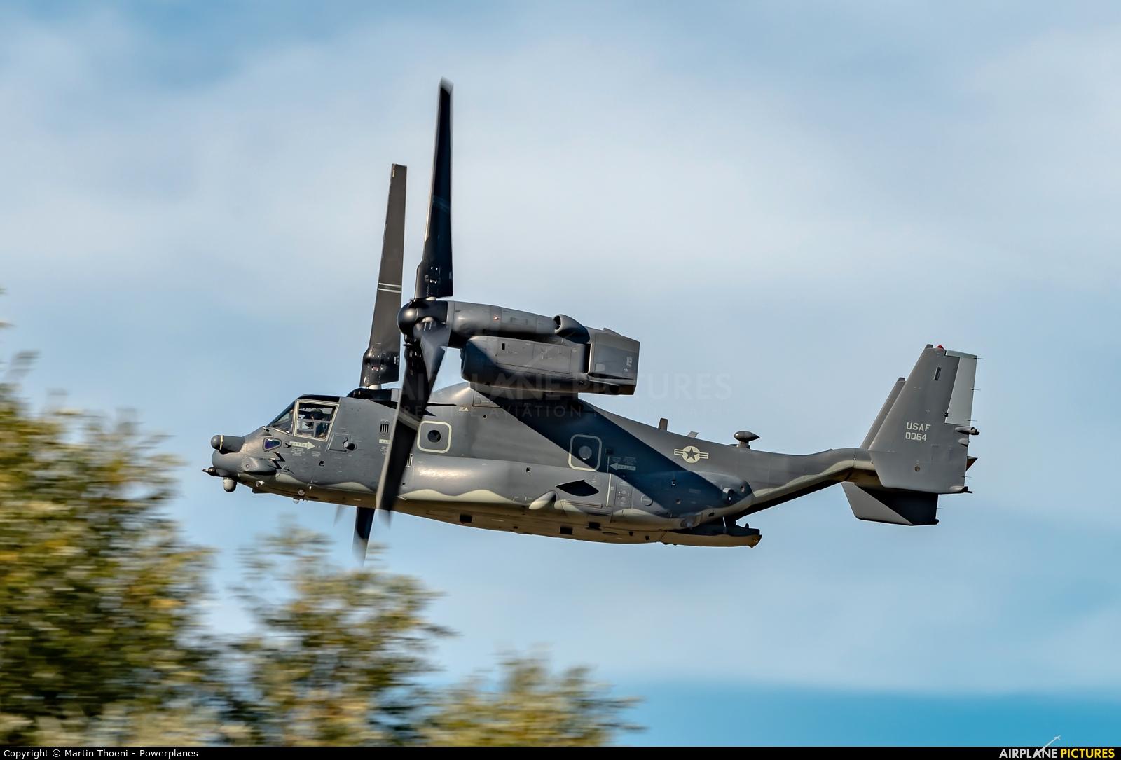 USA - Air Force 12-0064 aircraft at Kleine Brogel