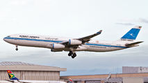 9K-ANA - Kuwait Airways Airbus A340-300 aircraft