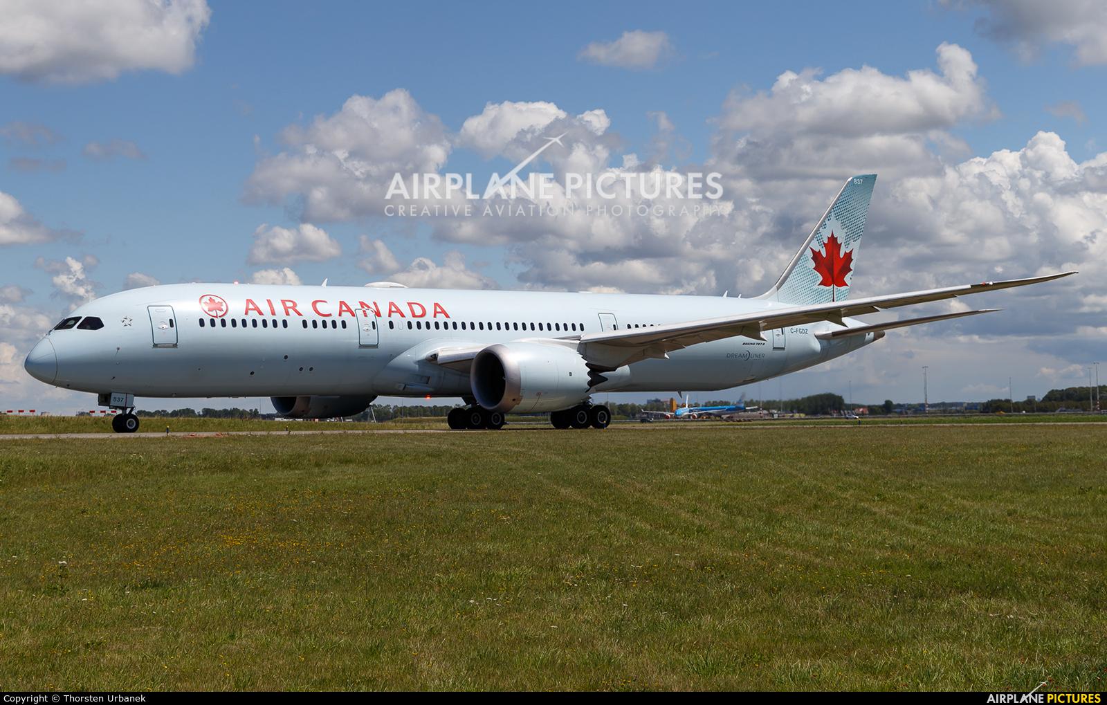 Air Canada C-FGDZ aircraft at Amsterdam - Schiphol