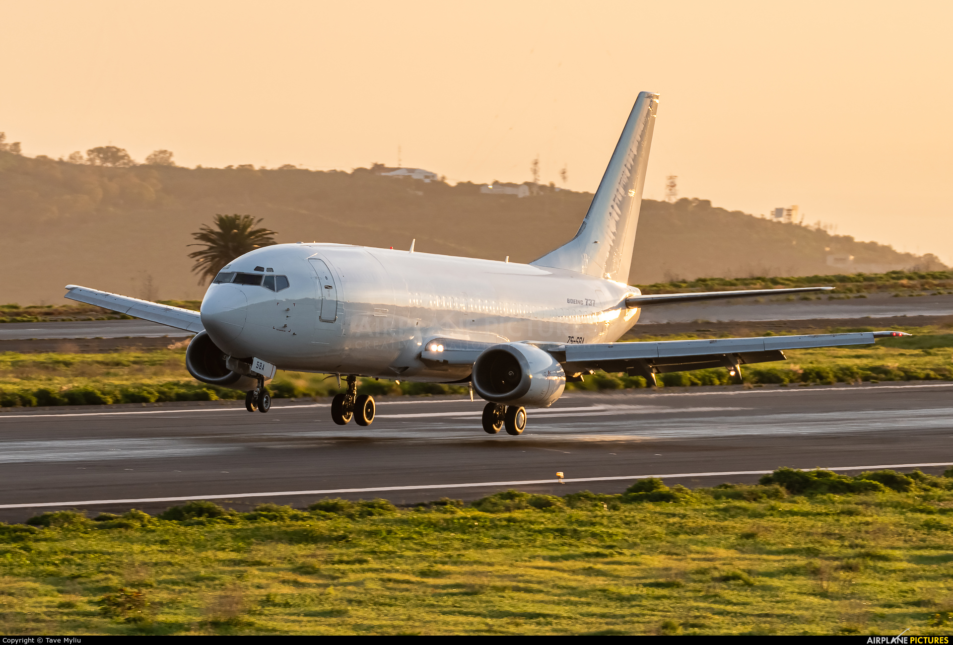 South African Cargo ZS-SBA aircraft at Tenerife Norte - Los Rodeos