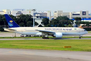 HZ-AKP - Saudi Arabian Airlines Boeing 777-200ER