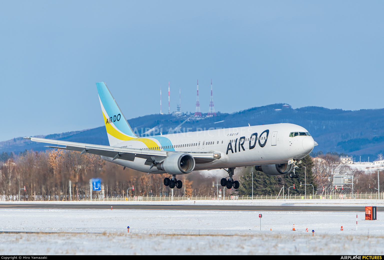 Air Do - Hokkaido International Airlines JA98AD aircraft at Memanbetsu