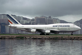 F-GISB - Air France Boeing 747-400