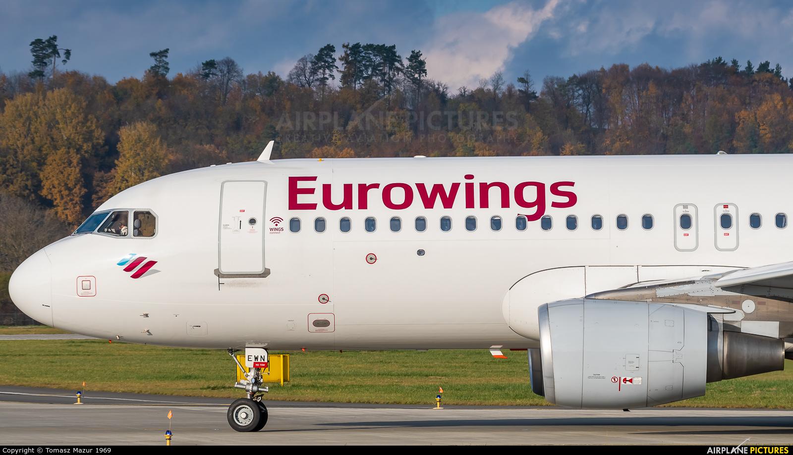 Eurowings D-AEWN aircraft at Kraków - John Paul II Intl
