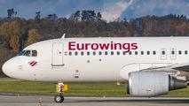 D-AEWN - Eurowings Airbus A320 aircraft