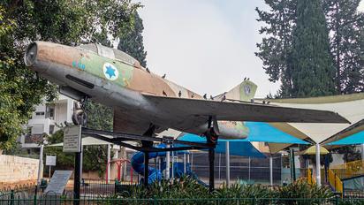 008 - Israel - Defence Force Dassault MD.452 Mystere IV