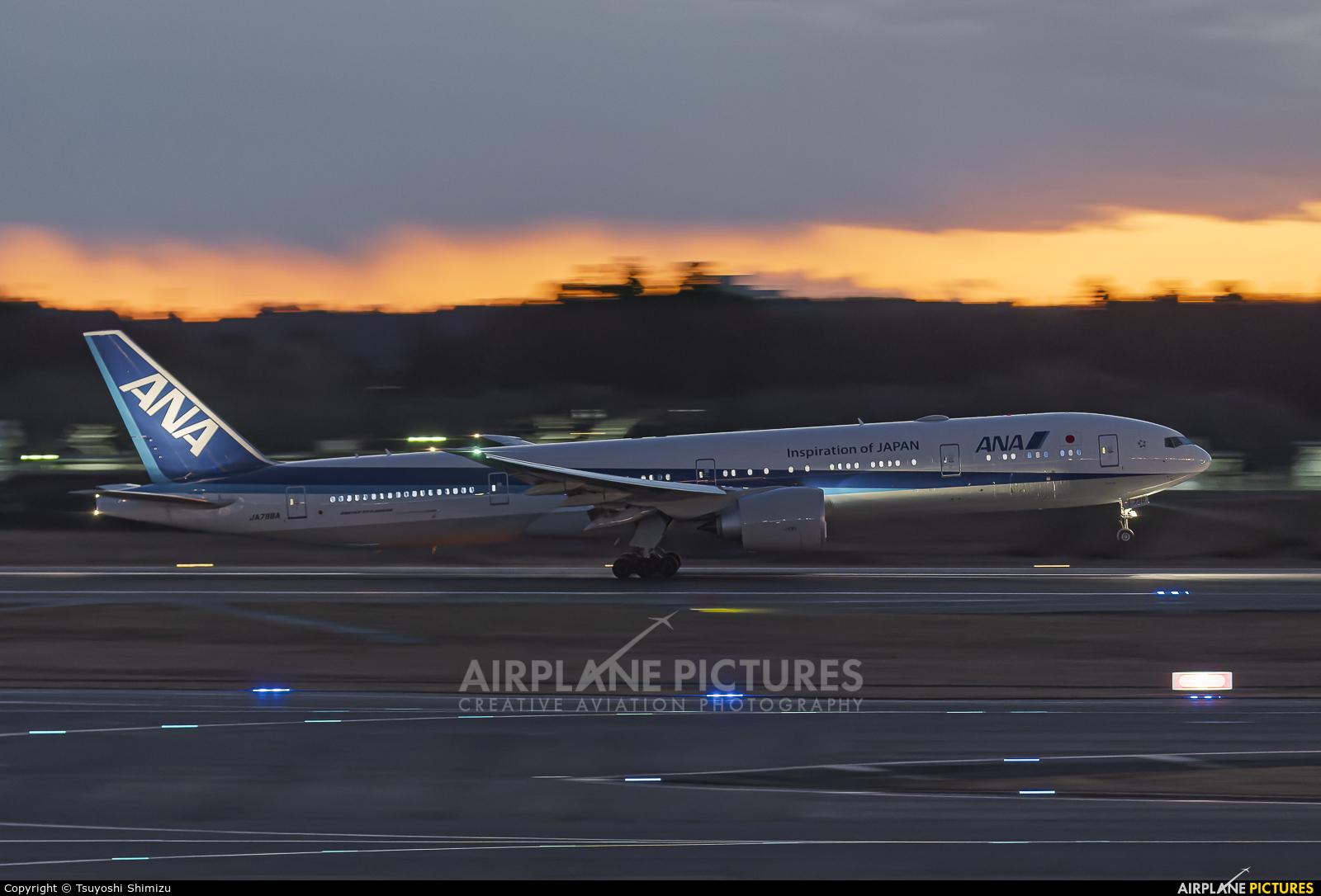 ANA - All Nippon Airways JA798A aircraft at Tokyo - Narita Intl
