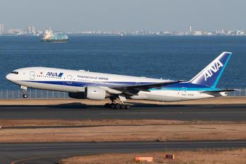 JA717A - ANA - All Nippon Airways Boeing 777-200