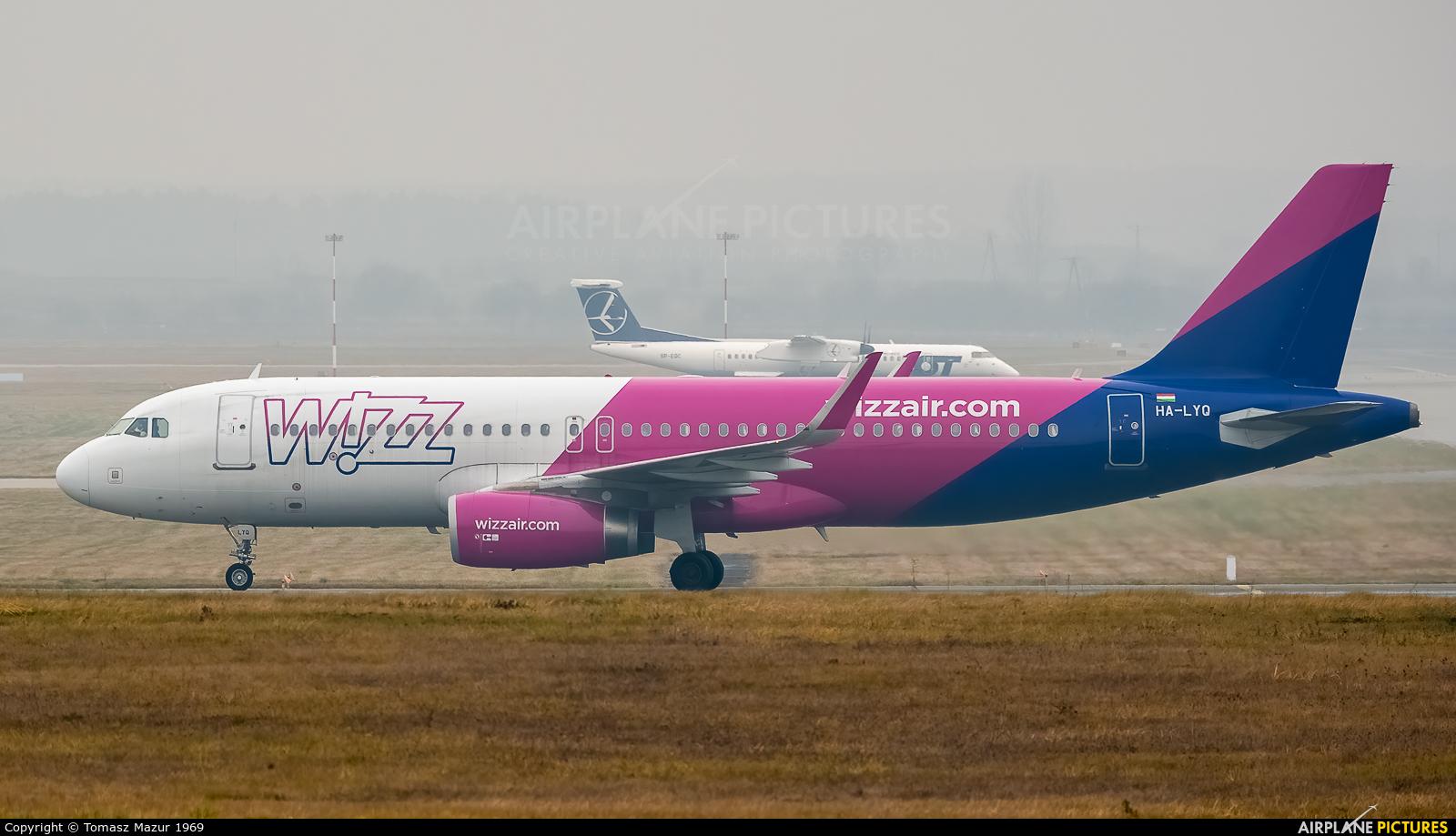 Wizz Air HA-LYQ aircraft at Katowice - Pyrzowice