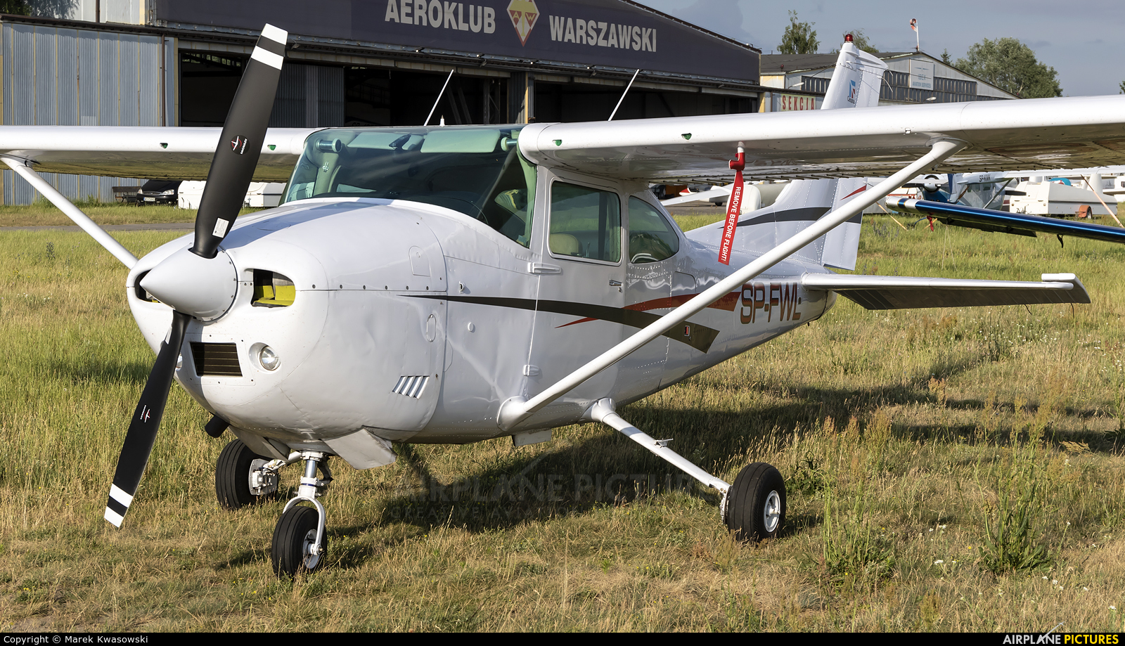 Private SP-FWL aircraft at Warsaw - Babice