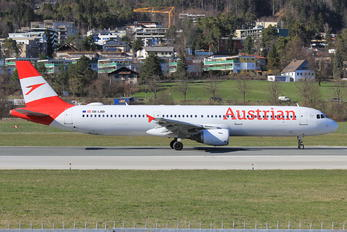OE-LBD - Austrian Airlines Airbus A321