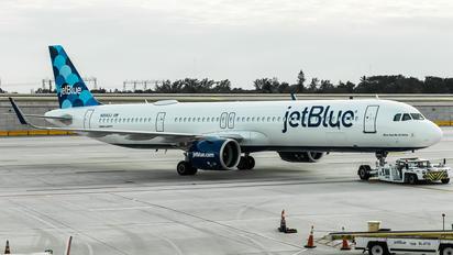 N2043J - JetBlue Airways Airbus A321 NEO