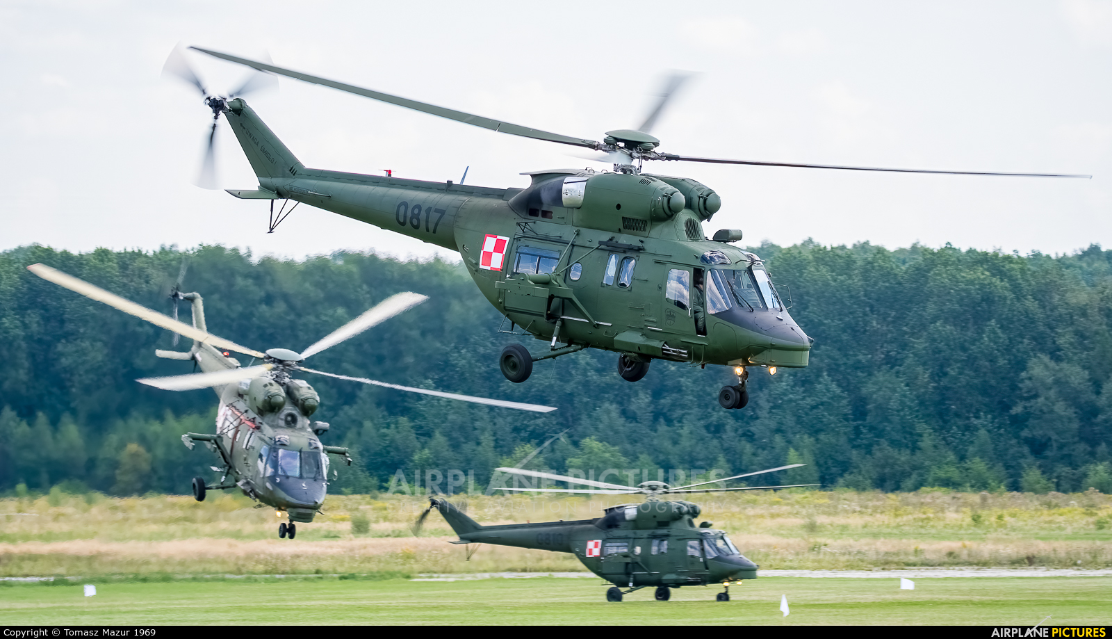 Poland - Army 0817 aircraft at Katowice Muchowiec