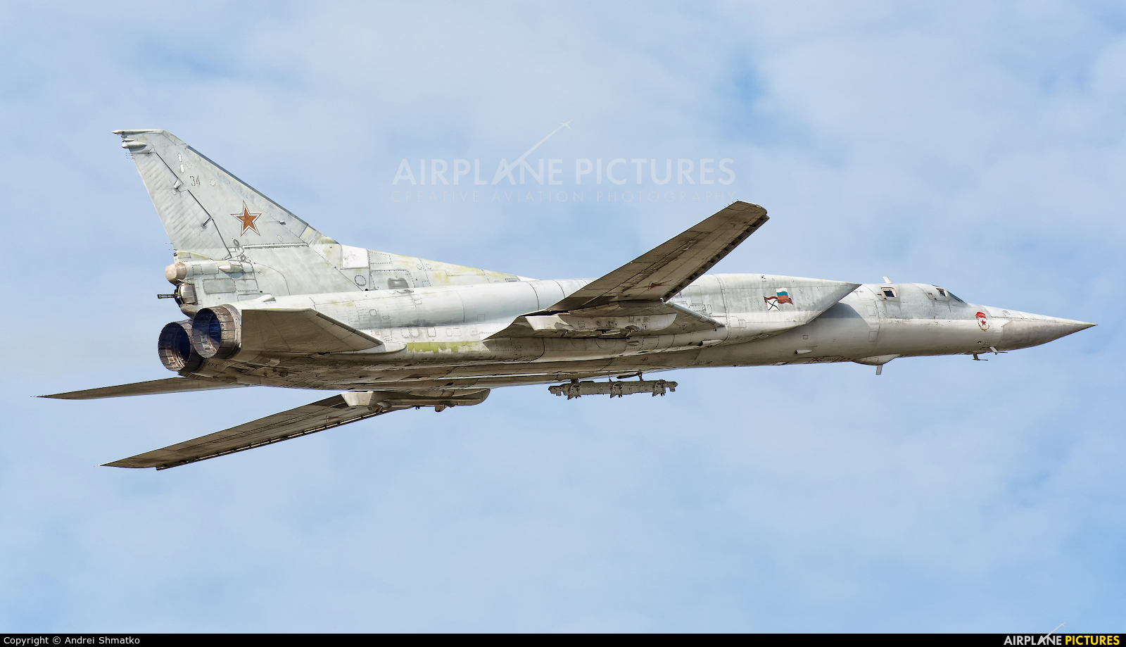 Russia - Air Force 34 aircraft at Undisclosed Location