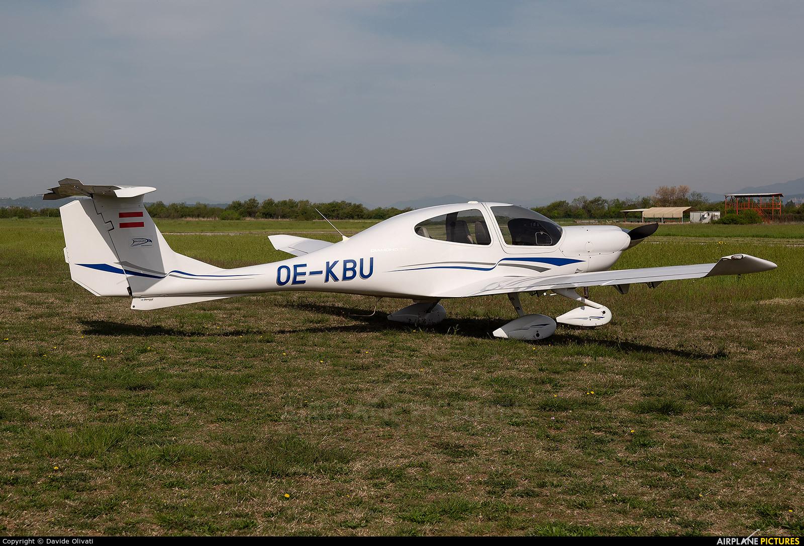 Private OE-KBU aircraft at Verona - Boscomantico