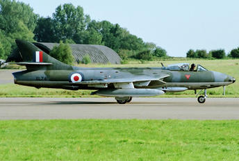 G-BWFS - The Flying Old Machine Company Hawker Hunter F.58