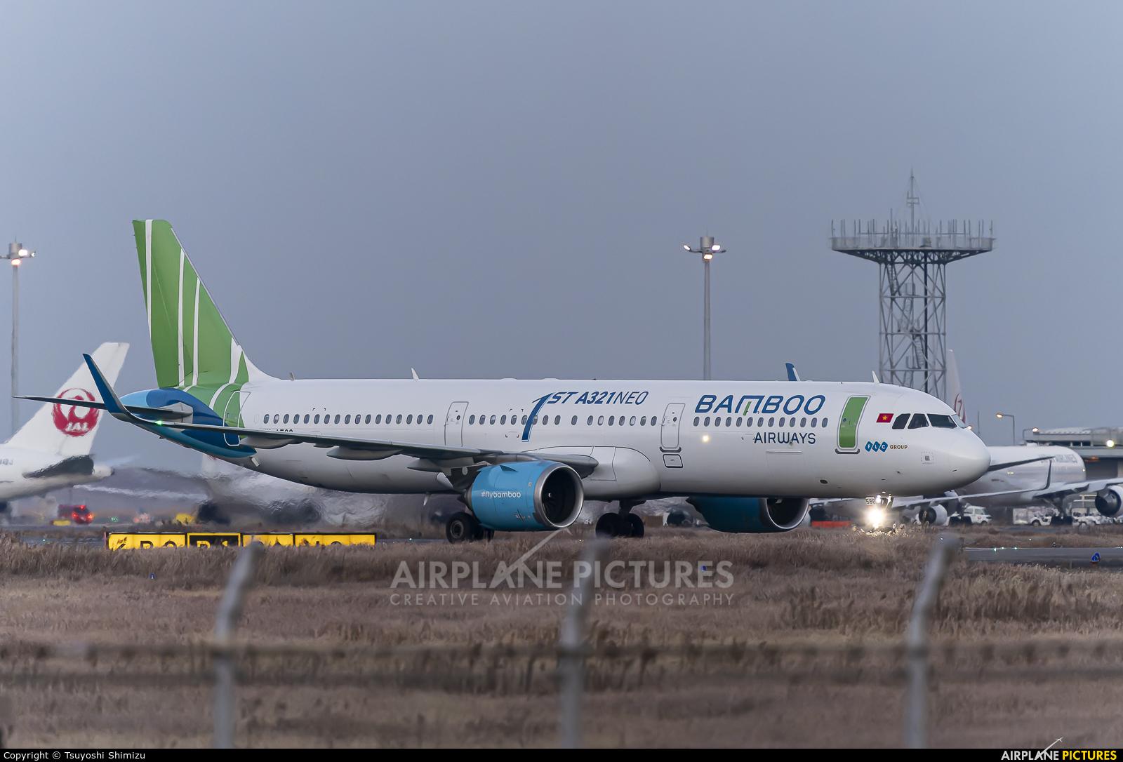 Bamboo Airways VN-A588 aircraft at Tokyo - Haneda Intl