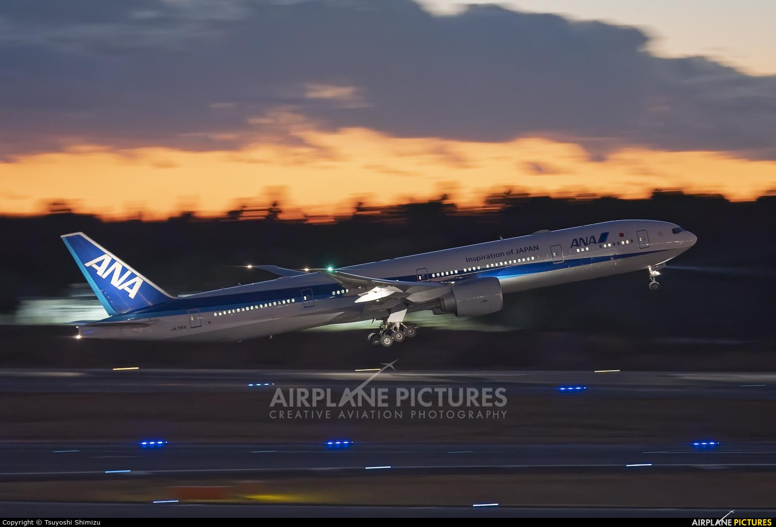 ANA - All Nippon Airways JA791A aircraft at Tokyo - Narita Intl