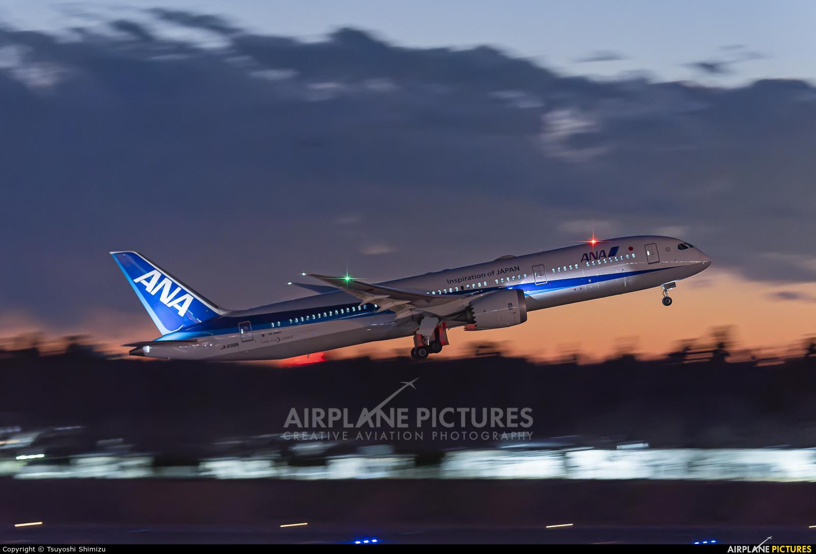 ANA - All Nippon Airways JA898A aircraft at Tokyo - Narita Intl