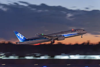 JA898A - ANA - All Nippon Airways Boeing 787-9 Dreamliner