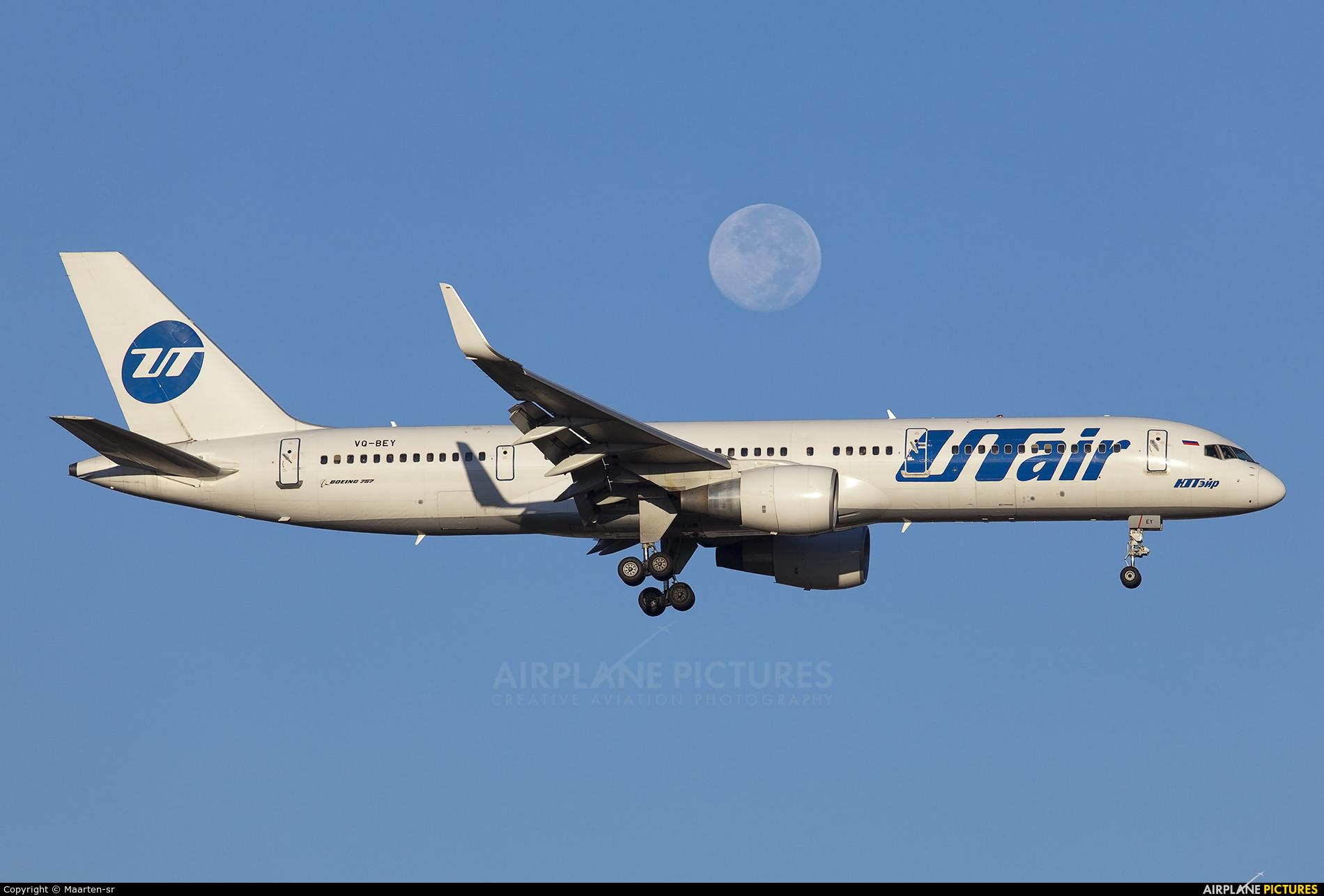 UTair VQ-BEY aircraft at Antalya