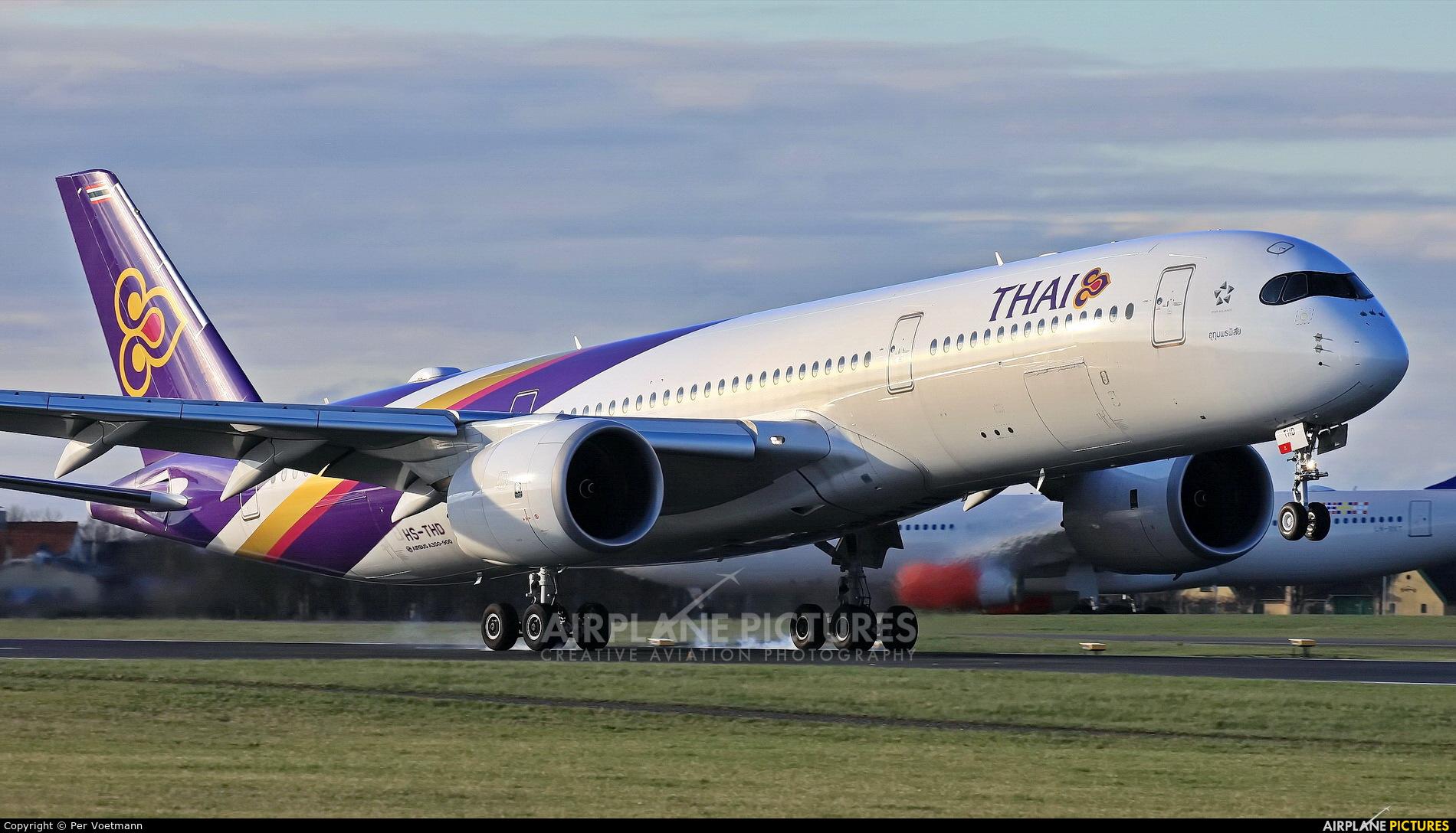Thai Airways HS-THD aircraft at Copenhagen Kastrup