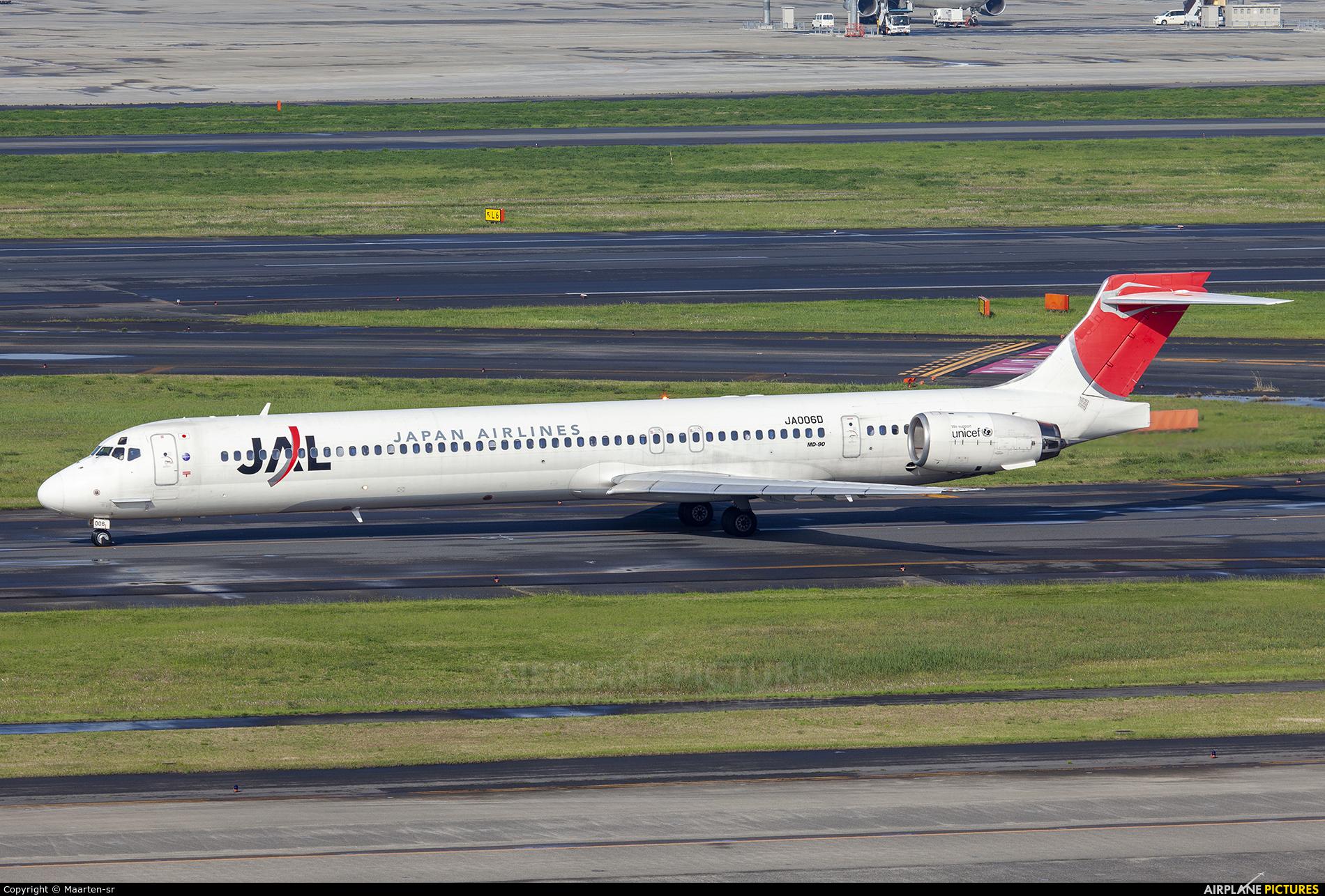 JAL - Japan Airlines JA006D aircraft at Tokyo - Haneda Intl