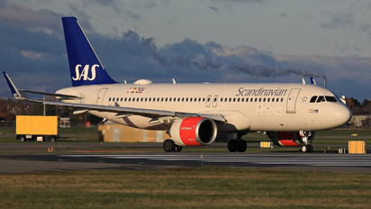 SE-ROG - SAS - Scandinavian Airlines Airbus A320 NEO