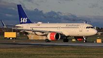 SE-ROG - SAS - Scandinavian Airlines Airbus A320 NEO aircraft