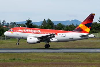 N596EL - Avianca Airbus A318