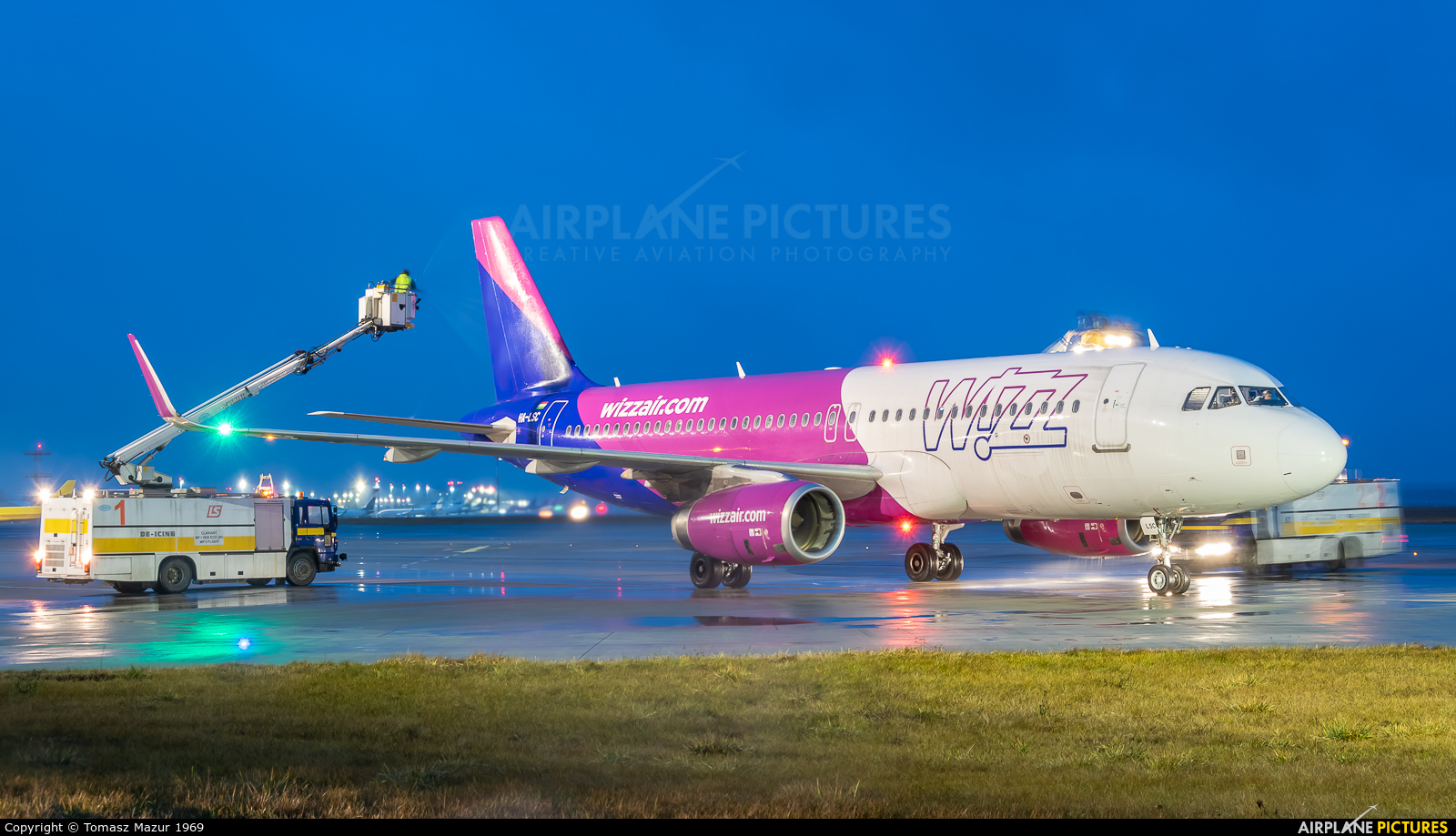 Wizz Air HA-LSC aircraft at Katowice - Pyrzowice