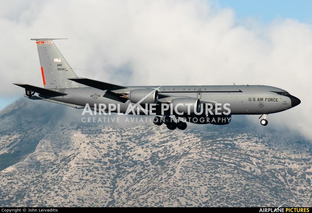 USA - Air Force 60-0367 aircraft at Athens - Eleftherios Venizelos