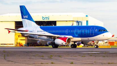 G-DBCK - BMI British Midland Airbus A319