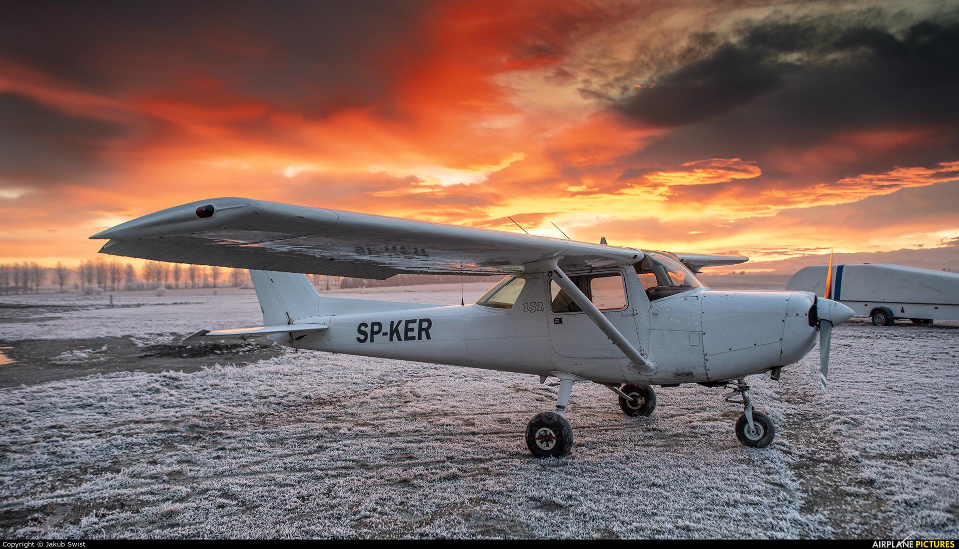 Aeroklub Nowy Targ SP-KER aircraft at Nowy Targ Airport