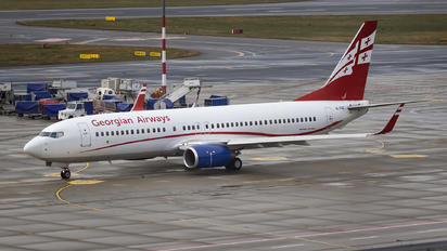 4L-TGC - Georgian Airways Boeing 737-800