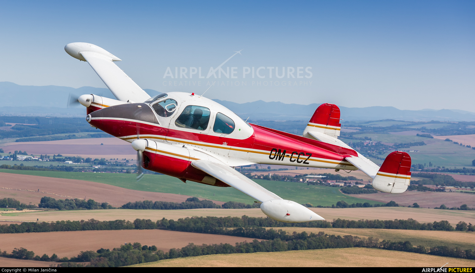Private OM-CCZ aircraft at In Flight - Slovakia
